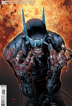 DARK NIGHTS DEATH METAL #7 (OF 7) COVER B DAVID FINCH BATMAN WHO LAUGHS VARIANT